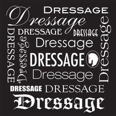 """Tee Shirt """"Dressage Dressage Dressage"""""""