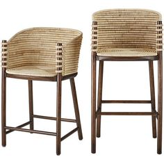 Make your pad the place to be with modern bar stools. Find both bar and counter stools in luxe velvet, edgy leather and natural seagrass online. Wicker Bar Stools, Modern Bar Stools, Bar Chairs, Desk Chairs, Rattan Stool, Dining Chairs, Office Chairs, Living Room Stools, Wayfair Living Room Chairs