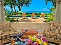beach house in Maui, Hawaii