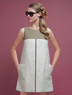 45 ideas clothes casual spring hats for 2019 Simple Dresses, Cute Dresses, Casual Dresses, Short Dresses, Fashion Dresses, Summer Dresses, Dress Sewing Patterns, Linen Dresses, Mode Style