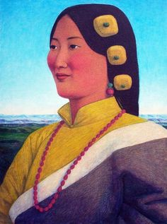 2007 'PORTRAIT OF MISS ZOMA', Xue Mo (b1966, Inner Mongolia, China; since 2011 based in Canada)