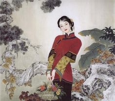 Китайский художник О Сян Рен. Обсуждение на LiveInternet - Российский Сервис Онлайн-Дневников