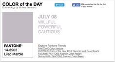 APPart – Mobile Art – Pantone Color of the Day – 'Lilac Marble' – TheAppWhisperer