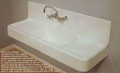 Vintage Style Kitchen Drainboard Sinks