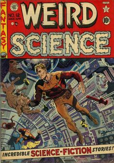 Cover for Weird Science (EC, 1951 series) #12