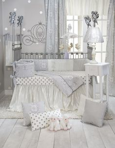 Glenna Jean offers Baby Slings & wraps, Baby Bedding, Mini Crib Bedding, Nursery accessories and as well as Home Decor products including Luxury pillows & Poufs in competitive prices! Satin Bedding, Baby Crib Bedding Sets, Crib Sets, Quilt Bedding, Baby Boy Cribs, Baby Decor, Heaven, Nursery Ideas, Nursery Inspiration