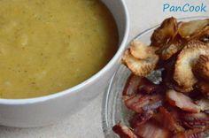 Ziemniaczany krem z chipsami z topinamburu/Potato cream with Jerusalem artichoke chips