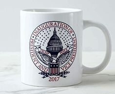 NEW President Donald  Trump Pence Double Sided Coffee Cup Mug