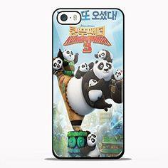 kungfu panda 3 Design GNO for iPhone 5/5s Black case