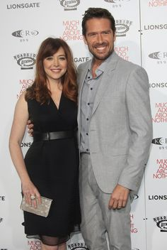 Alyson Hannigan & Alexis Denisof-- I had no idea they have been married since 2003 and have 2 kids!