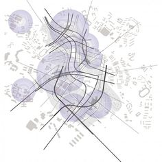 architecture site plan _ Zaha Hadid  Sketch  Masterplan  Singapore  2001 – 2021