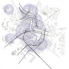 Zaha Hadid  Sketch  Masterplan  Singapore  2001 – 2021