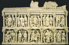 Sarcophagus of Junius Bassus / Italy / Early Christian art