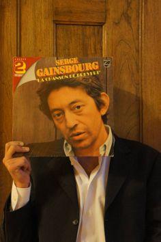 sleeveface - Recherche Google Serge Gainsbourg, Cool Clocks, Oui Oui, Vinyl Art, Art Images, Album Covers, Collages, Albums, Musicals