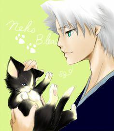 toshiro hitsugaya  kitten