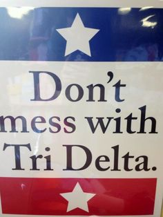 Texas Tri Delta!
