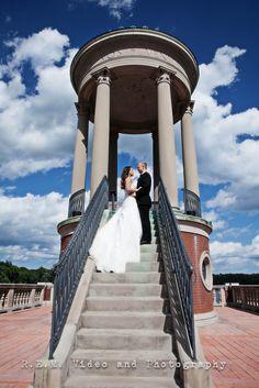 A stunning wedding photo. #brideandgroom, #portrait #dramaticsky. R.E.M. Weddings www.remvp.com