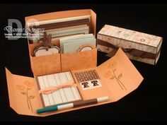 Stampin' Up! Stationery Box 1 of 2 - YouTube