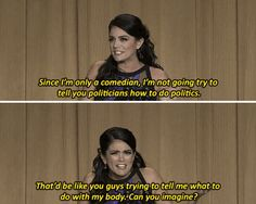 Quote of the Day: Cecily Strong calls out anti-choice politicians