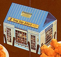 Long John Silver's Takeout Box