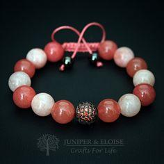 Wmens Bracelet, Orange Bracelet, Zircon Bracelet, Gift For Mom, Mother's Day Gift, Fashion 2016, ブレスレット , Christmas Gift, Armband by JuniperandEloise on Etsy