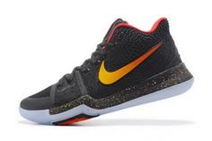 0f4806077f34 Authentic Nike Kyrie 3 Black Red-Gold Mens Basketball Shoes For Sale -  ishoesdesign