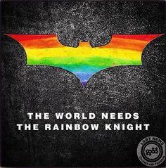 the rainbow knight Lesbian Quotes, Lesbian Pride, Lesbian Love, Pride Tattoo, Lgbt News, Rainbow Store, Rainbow Pride, Cute Gay, Love Her