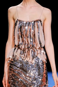 Nina Ricci at Paris Fashion Week Spring 2013    New Years 2013??..maybe with just the sequins on top..the rest is too much