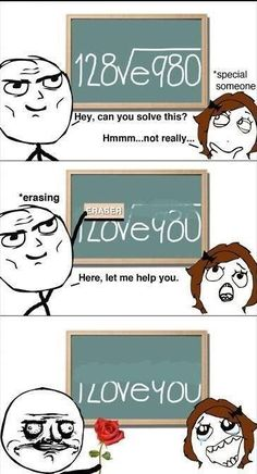 Aww!! Hahaha, I would love if this happened. Math isn't my most favorite subject so injecting humor into it definitely helps.