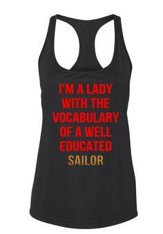 Well Educated Sailor Workout Tank zumba workout,zumba workout for beginners,zumba workout videos,zumba workout clothes,zumba workout before and after,zumba/workout gear,zumba workouts
