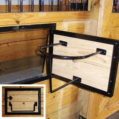 Barn Components > Accessories > Feeders and Waterers > Swivel Bucket Holder