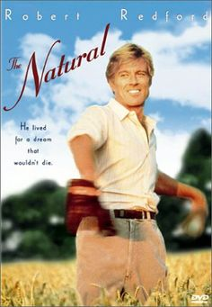 From the sun-dappled heartland, a young man (Robert Redford, in soft lighting) emerges as maybe the best baseball player anybody's ever seen.  Great movie