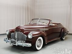 Buick Roadmaster Convertible 1941.