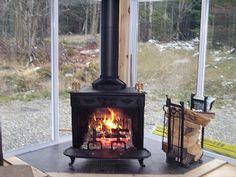 3 season room with wood burning stove - Google Search