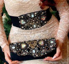 """Купить вечерняя сумочка """"Рафаэль"""" - чёрный, орнамент, вечернее украшение, вечерняя сумочка, клатч, классика"""