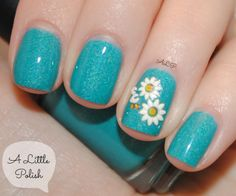flower pattern over Liquid Lacquer Rain Song