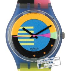 Swatch Flumotions GN102 - 1988 Fall Winter Collection