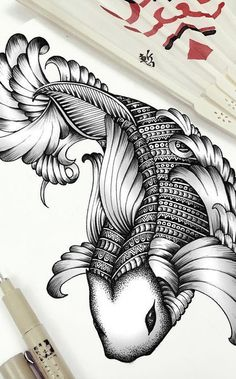 Wow *o* ~ Tattoo Koi Art