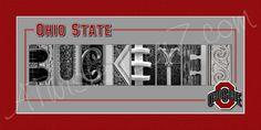 Hey, I found this really awesome Etsy listing at https://www.etsy.com/listing/118070026/ohio-state-university-buckeyes-alphabet
