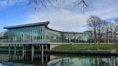 Halmstad City Library (Sweden) City Library, Sweden, Bucket, Buckets, Aquarius