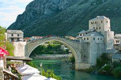 Le Stari Most (Vieux Pont), Mostar, Bosnie-Herzégovine