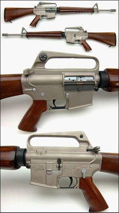 Custom Colt AR-15 rifle: