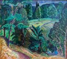 Laurentian Landscape is a painting created by Anne Savage in Find out more at Mayberry Fine Art. Beaver Hall, Female Painters, Group Of Seven, Canadian Artists, Artist At Work, Savage, Fine Art, History, Artwork