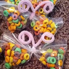 Butterfly fruit loop treats...I like combining this with the one using a clothes pin...