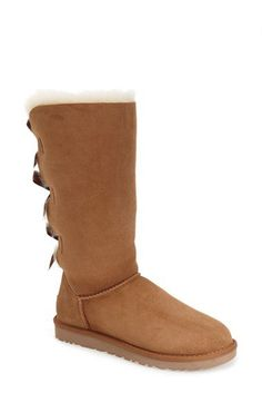 UGG® Australia 'Bailey Bow' Tall Boot Chestnut (Women) | Nordstrom