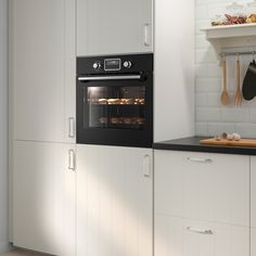 SMAKSAK Forno termoventilato, nero - IKEA IT Combi Oven, Oven Cabinet, Ikea Built In, New Oven, Self Cleaning Ovens, Oven Canning, Four Micro Onde, Kitchen Organization, Ovens