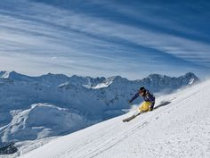 The Tschuggen Grand Hotel is offering guests a sneak peak at the slopes before ski season even begins.