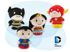 I'm kind of feeling the Superman and Wonder Woman ones. I already have the Flash and Batman.