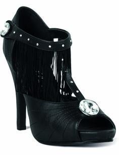 a0343aaf3744b Chaussures cabaret luxe femme   Ces chaussures compensées pour adulte sont  en plastique noir. Des