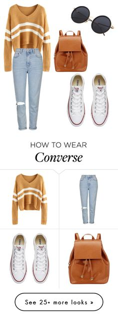 """""""Josie my Rosie"""" by lilangelrere on Polyvore featuring Topshop, Converse and Barneys New York"""